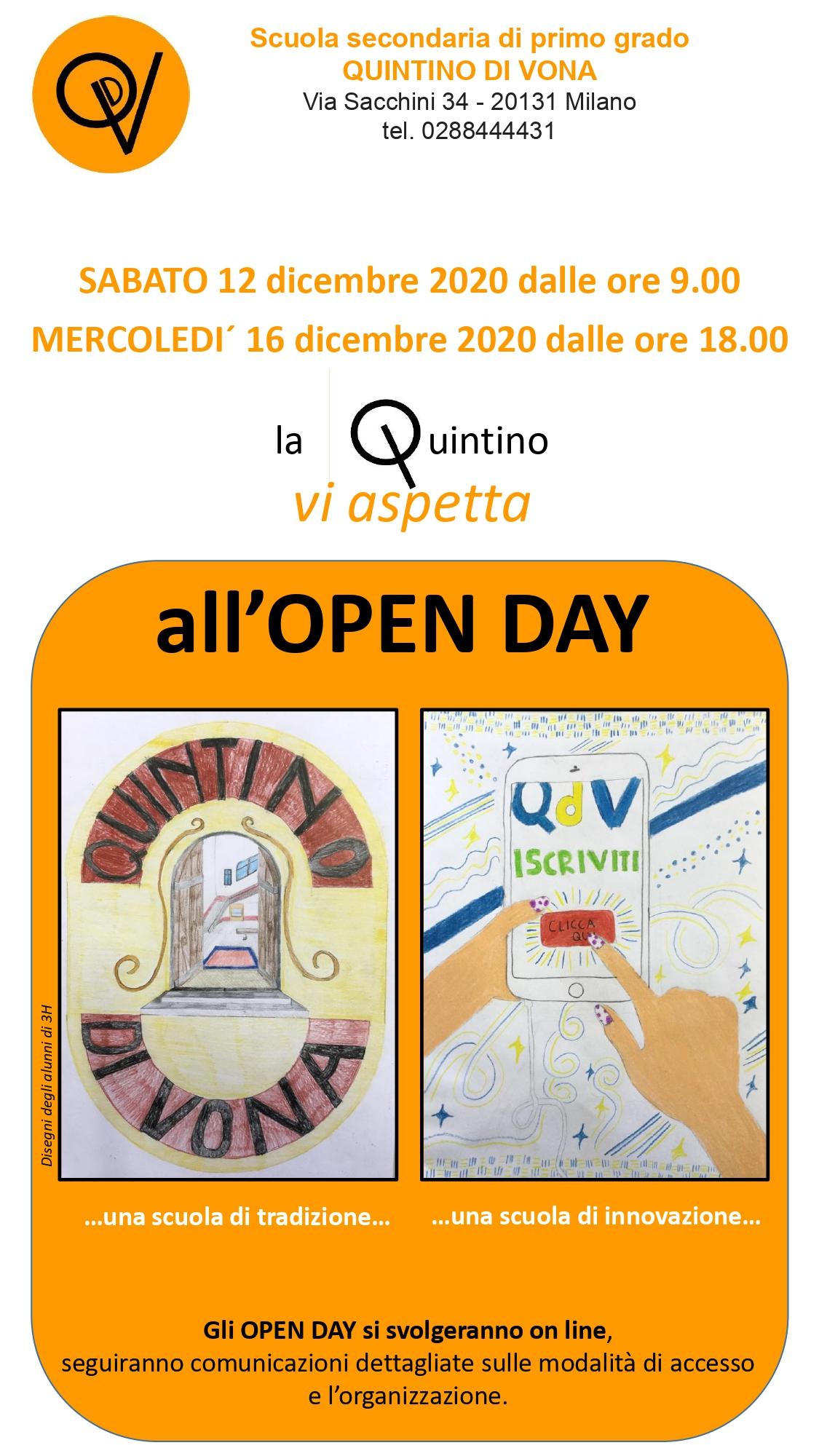 Volantino open day 20-21